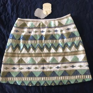 Altar'd State Aztec sequence skirt